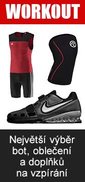 Workout - Největší výběr bot, oblečení a příslušenství na vzpírání