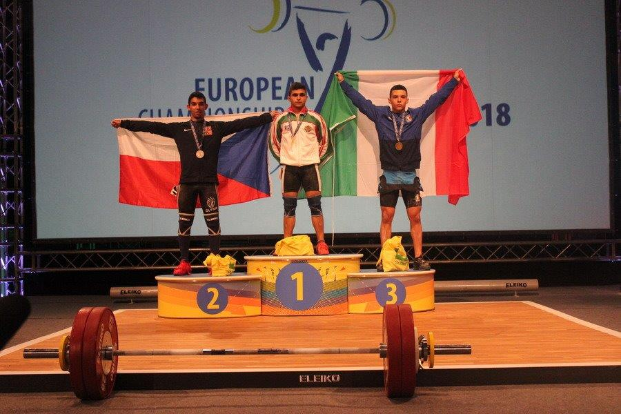 Junioři do 17 let a do 56 kg